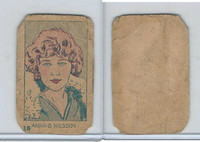 W512 Strip card, Famous People, 1926, #16 Anna Q. Nilsson