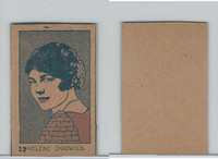 W512 Strip card, Famous People, 1926, #17 Helene Chadwick