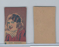W512 Strip card, Famous People, 1926, #18 Eva Novak