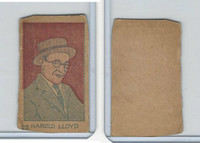 W512 Strip card, Famous People, 1926, #22 Harold Lloyd