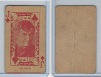 W560 Strip Card, Playing Cards, 1920's, Will Rogers