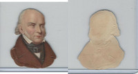 Y95 Die Cuts, Presidents, 1890's, John Quincy Adams