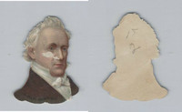 Y95 Die Cuts, Presidents, 1890's, James Buchanan