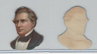 Y95 Die Cuts, Presidents, 1890's, Millard Fillmore