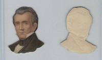 Y95 Die Cuts, Presidents, 1890's, James Polk