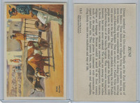 W608-3 Educational, Indians of USA, 1950's, #13 Zuni Ox Cart