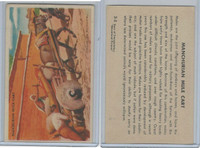 W608-6 Educational, Story Transportation, 1950's, #3 Manchurian Mule Cart