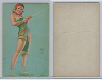 W424-2e Mutoscope, Hot-Cha Girls, 1943, Fisherman's Luck