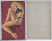 W424-2e Mutoscope, Hot-Cha Girls, 1943, Good From Any Angle