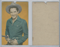W Card, Cowboys Stars, Color Tint, 1950's, Bob Steele