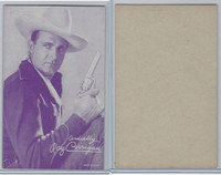 W Card, Cowboys Stars, Magenta, 1950's, Roy Corrigan
