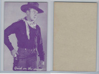 W Card, Cowboys Stars, Magenta, 1950's, Quick on The Draw (1)