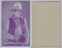 W Card, Cowboys Stars, Magenta, 1950's, Dead Shot Orders Hands Up