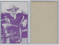 W Card, Cowboys Stars, Magenta, 1950's, Jimmy Wakely