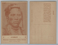 W Card, Groves, Famous American Indian, 1941, #4 Curley