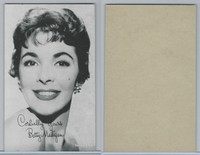 W Card, Exhibit, Salutations Female Singers, 1960's, Betty Madigan