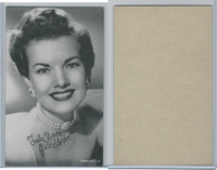 W Card, Exhibit, Salutations Female Singers, 1960's, Gale Storm