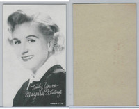 W Card, Exhibit, Salutations Female Singers, 1960's, Margaret Whiting