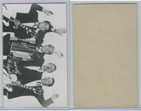 W Card, Exhibit, Salutations Male Singers, 1960's, The Vagabonds