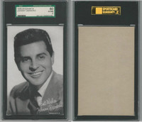 W Card, Exhibit, Salutations Male Singers, 1960's, Johnny Desmond, SGC 80 EXMT