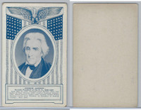 W Card, Exhibit, Famous Americans, 1920's, Andrew Jackson