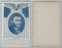W Card, Exhibit, Famous Americans, 1920's, Ulysses S. Grant