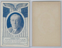 W Card, Exhibit, Famous Americans, 1920's, Woodrow Wilson