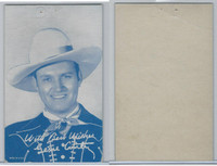 W Card, Cowboys Stars, Blue Tint, 1950's, Gene Autry (4)