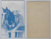 W Card, Cowboys Stars, Blue Tint, 1950's, Gene Autry (16)