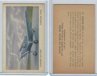 UO1, Tydol Motor Oil, Aeroplanes, 1941, #17 Curtiss XP42, USA