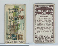 V39  J.S. Fry, Scout Series, 1912, #25 Trek Cart