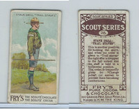 V39  J.S. Fry, Scout Series, 1912, #28 Stave Drill Trail Staves