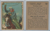 V290 Hamilton, Cowboy Series, 1930's, #10 Throwing The Lasso