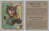 V290 Hamilton, Cowboy Series, 1930's, #12 Touching Leather
