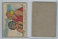 V339-3 Parkhurst, Color Comic, Blank Back Type, 1951, #36 The Sisters