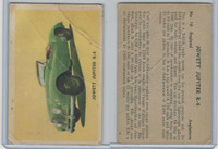 V339-14 Parkhurst, Sports Car Cards, 1956, #10 Jowett Jupiter