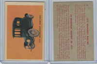 V339-16 Parkhurst, Old Time Cars, 1956, #5 Beardsley Electric 1917