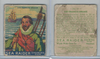 V359-1 World Wide Gum, Sea Raiders, 1933, #21 Sir Francis Drake