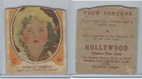 V289 Hamilton, Hollywood Picture Stars, 1938, #16 Shirley Temple