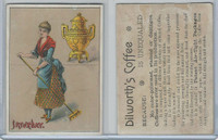 K122 Dilworth, Cards Of Months & Weeks, 1900, Saturday