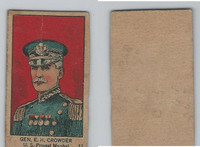 W545, World War I Leaders, Scenes, Insignia, 1920's, #11 Gen EH Crowder