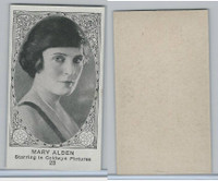 W585, Movie Stars, Blank Backed, 1921, #23 Mary Alden