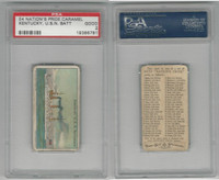 E4 Nation's Pride Caramel, Warships, 1930's, Kentucky USN, PSA 2 Good
