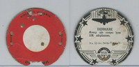 M30 St. Louis Globe, Seal Craft Disc, 1930's, Aircraft Ins., #12 Denmark