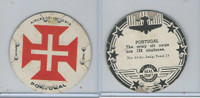 M30 St. Louis Globe, Seal Craft Disc, 1930's, Aircraft Ins., #13 Portugal