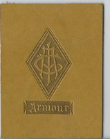 L20 American Tobacco Leather, College Seals, 1912, Armour