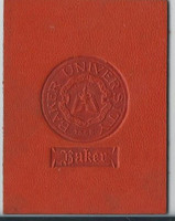 L20 American Tobacco Leather, College Seals, 1912, Baker (Orange)