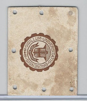 L20 American Tobacco Leather, College Seals, 1912, Brown University (White)