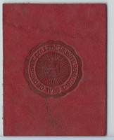 L20 American Tobacco Leather, College Seals, 1912, Carthage