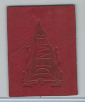 L21 American Tobacco Leather, College Pennants, 1912, Denver